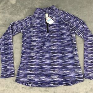 NEW Justice Active Jacket blue girls size 8